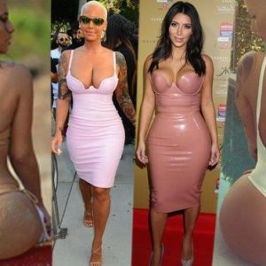 Amber Rose v. Kim K – Who Wore It Best