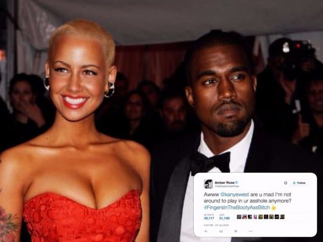 amber rose comment twitter