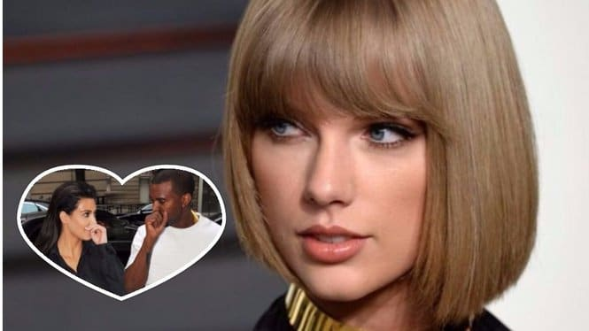 Kim And Kanye Beef With Taylor Swift