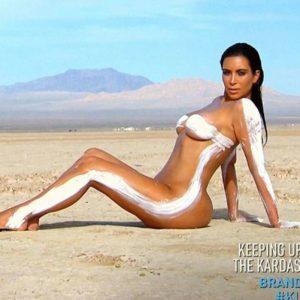 Kim K Desert Shoot