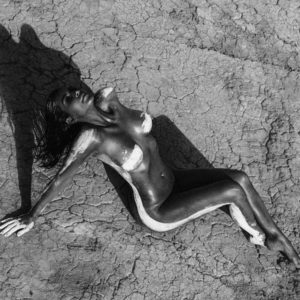 Kim K naked desert shoot