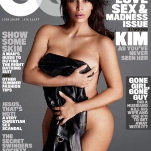 Kim Kardashian Sexy GQ Photoshoot