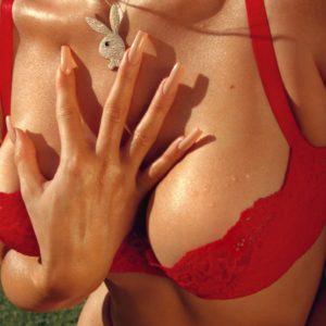 Kylie Jenner nice tits bra